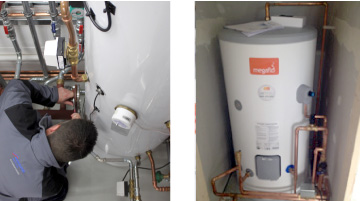 Unvented hot water systems Belper